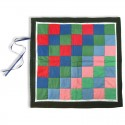 Quilted Decimal Checkerboard Mat
