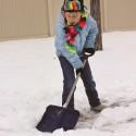 Child-Size Snow Shovel