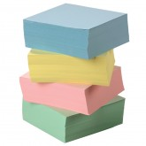 Metal Inset Paper  ~ 1 Ream Assorted Colors