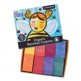 Organic Beeswax Crayon Blocks
