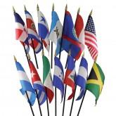 North & Central America Flag Set