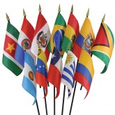South America Flag Set