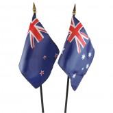 Australia & New Zealand Flag Set