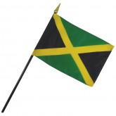 Jamaica Nation Flag