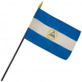 Nicaragua Nation Flag