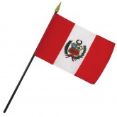Peru Nation Flag