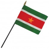 Suriname Nation Flag