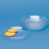 """Glass Snack """"Club"""" Plates"""