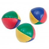 Striped Juggling Balls