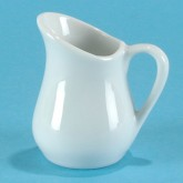 3/4 oz. Porcelain Pitcher