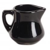 Black Porcelain Creamer