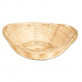 Elliptical Bamboo Basket