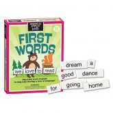 First Words Magnetic Poetry