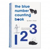 The Blue Number Counting Book
