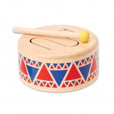 Solid Wood Drum