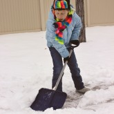 Child-Size Snow Shovel