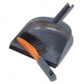 Modern Brush & Dustpan