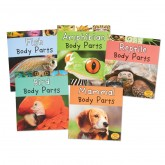 Vertebrate Body Parts Book Set