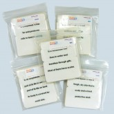 Set of All Five Vertebrates Definition Cards - Laminated