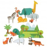 Deluxe Pop-Out Animals of the World