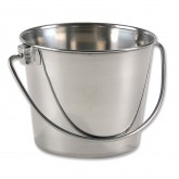 One-Quart Small Stainless Steel Pail