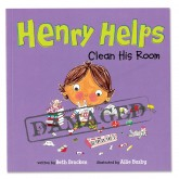 SLIGHTLY DAMAGED Henry Helps Clean His Room