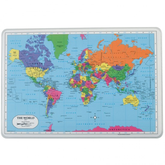 World Placemat   Montessori Services