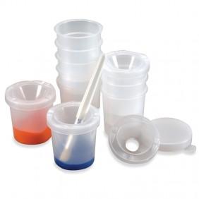 Spill-Proof Paint Pots