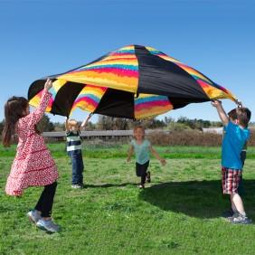 Tie-Dye 10-Foot Parachute