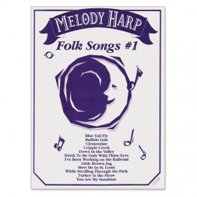 Music for Melody Harp ~ Folk Songs #1