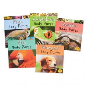 Vertebrate Body Parts Book Set