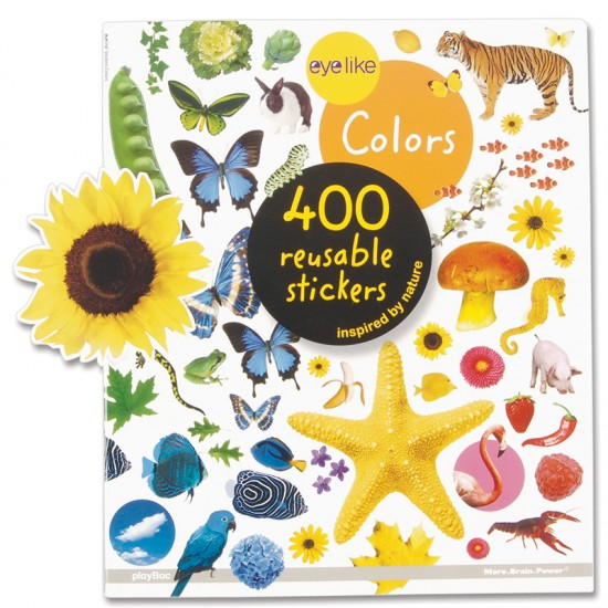 Colors Sticker Book For Small Hands