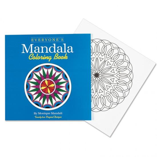 Everyone\'s Mandala Coloring Book - For Small Hands
