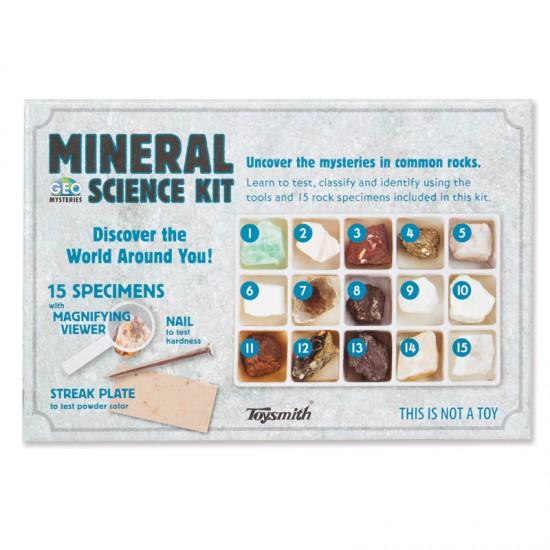 Toysmith Mineral Science Kit New