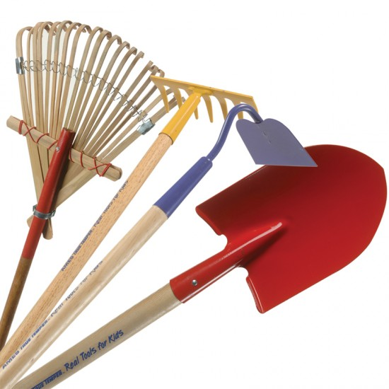 Garden tools for ages 6 up for small hands for Small garden tools set of 6