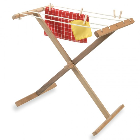 The Kids Clothesline Gorgeous Hardwood Clothesline Stand For Small Hands