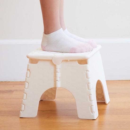 Super E Z Foldz Stool White Squirreltailoven Fun Painted Chair Ideas Images Squirreltailovenorg