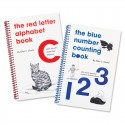 Red Letter / Blue Number Book Set