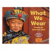 What We Wear - paperback