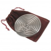 Small Pewter Labyrinth