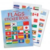Flags Sticker Book