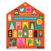 Nativity Pop-Out Advent Calendar