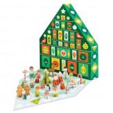 Winter Wonderland Pop-Out Advent Calendar