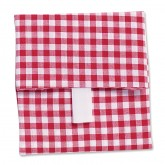 Red & White Gingham Wrap-n-Mat