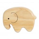 Wooden Elephant Shaker