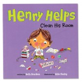 Henry Helps Clean His Room