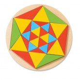Sun Wooden Mosaic Puzzle