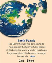 C215 Earth Puzzle