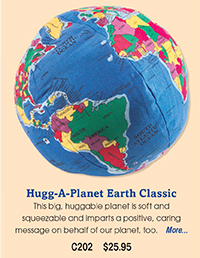 C202 Hugg-A-Planet Earth Classic