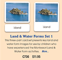 C736 Land & Water Forms Set 1